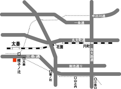 クリハラ薬局-帷子店- 地図